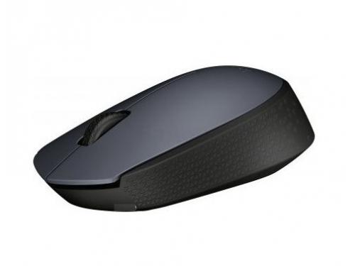 Мышка Logitech M170, беспроводная, USB, серая, вид 3