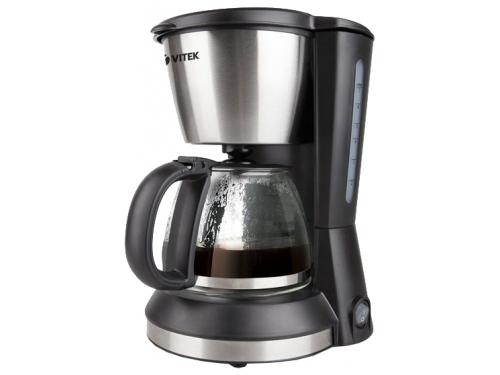Кофеварка Кофеварка капельного типа VITEK VT 1506 BK, вид 1