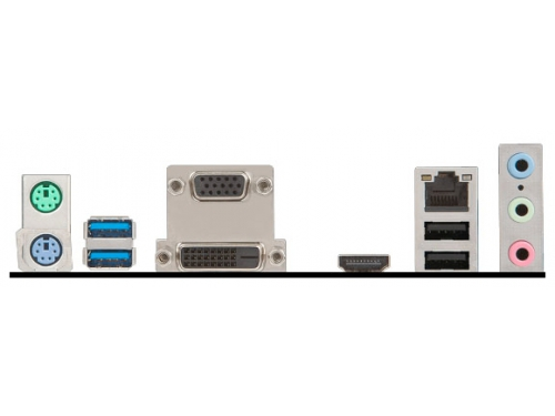 Материнская плата MSI H110M ECO Soc-1151 H110 DDR4 mATX SATA3  LAN-Gbt USB3.0 DVi/VGA/HDMI, вид 3