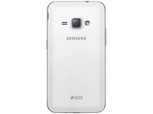 Смартфон Samsung Galaxy J1 (2016) SM-J120F/DS, белый, вид 3