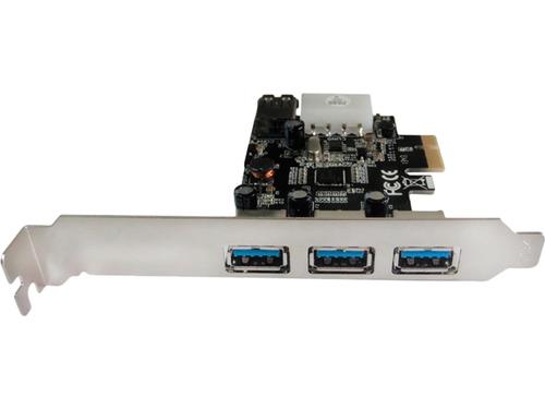 Контроллер Speed Dragon (EU306A-3-BU01), 3 ext (USB3.0) + 1 int (USB3.0), PCI-Ex1, вид 1