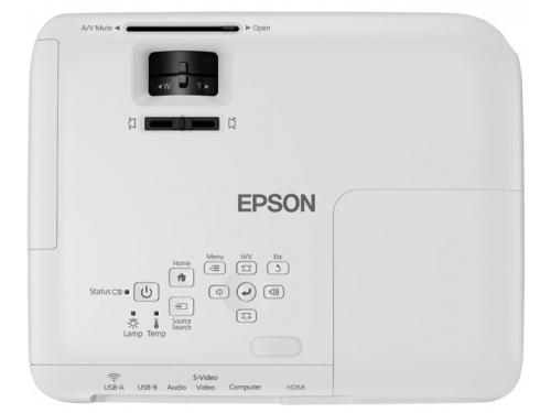 Мультимедиа-проектор Epson EB-S04 портативный, вид 4