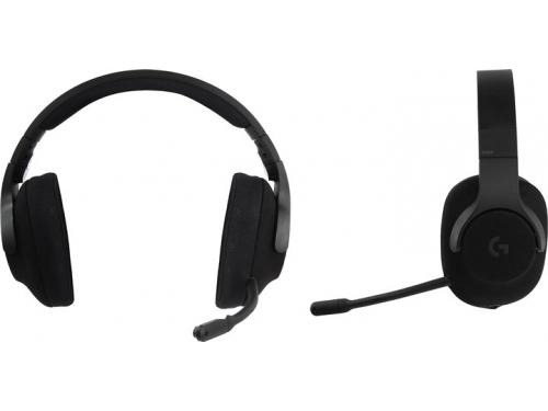 Гарнитура для ПК Logitech Gaming G433, черная, вид 1