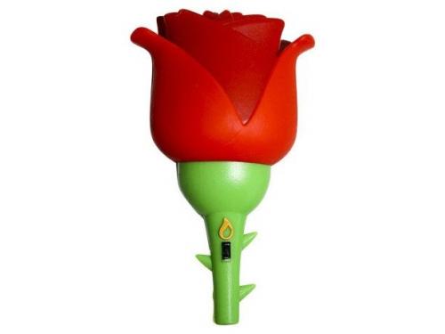 Usb-флешка Iconik RB-ROSE-8GB, Красно-зеленая, вид 1