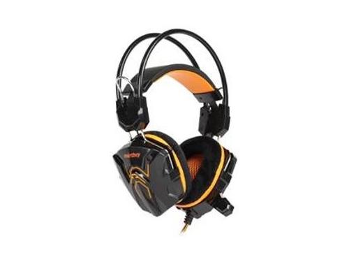 Гарнитура для ПК SmartBuy Rush Cobra SBHG-1100,  черно-оранжевая, вид 1