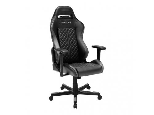 Игровое компьютерное кресло DXRACER OH/DF73/N, черный, вид 2