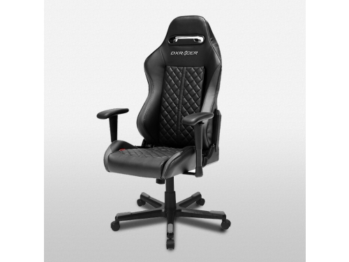 Игровое компьютерное кресло DXRACER OH/DF73/N, черный, вид 3