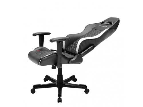 Игровое компьютерное кресло DXRacer Drifting OH/DF73/NW, чёрно-белое, вид 3