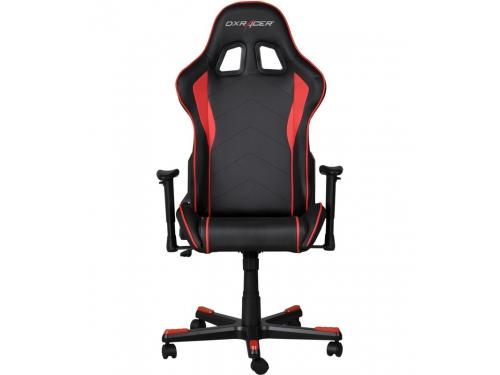 Игровое компьютерное кресло DxRacer OH/FE08/NR черное/красное, вид 3