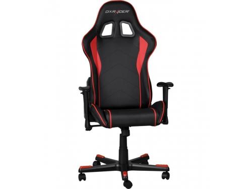 Игровое компьютерное кресло DxRacer OH/FE08/NR черное/красное, вид 4