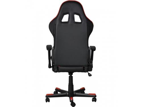 Игровое компьютерное кресло DxRacer OH/FE08/NR черное/красное, вид 6