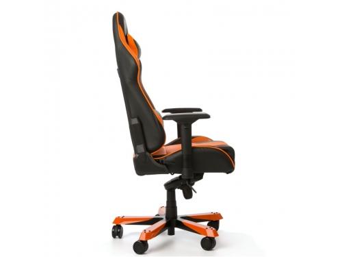 Игровое компьютерное кресло DXRacer King OH/KS06/NO, черно-оранжевое, вид 5