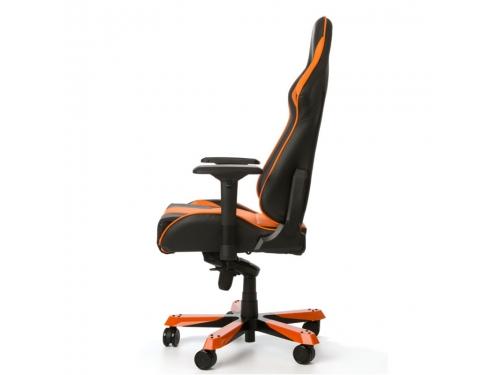 Игровое компьютерное кресло DXRacer King OH/KS06/NO, черно-оранжевое, вид 6