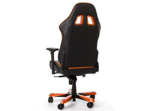 Игровое компьютерное кресло DXRacer King OH/KS06/NO, черно-оранжевое, вид 7
