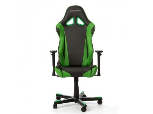 Игровое компьютерное кресло DxRacer Racing OH/RE0/NE черное/зеленое, вид 3