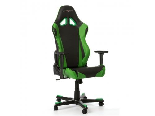 Игровое компьютерное кресло DxRacer Racing OH/RE0/NE черное/зеленое, вид 4