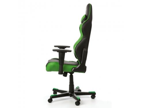 Игровое компьютерное кресло DxRacer Racing OH/RE0/NE черное/зеленое, вид 5