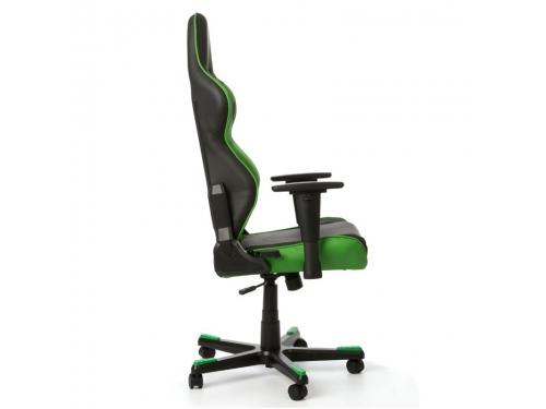 Игровое компьютерное кресло DxRacer Racing OH/RE0/NE черное/зеленое, вид 6
