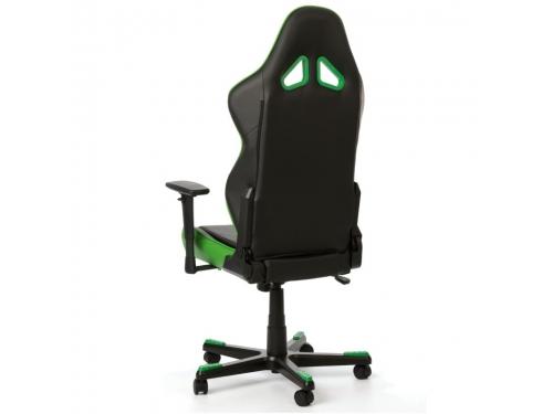 Игровое компьютерное кресло DxRacer Racing OH/RE0/NE черное/зеленое, вид 7