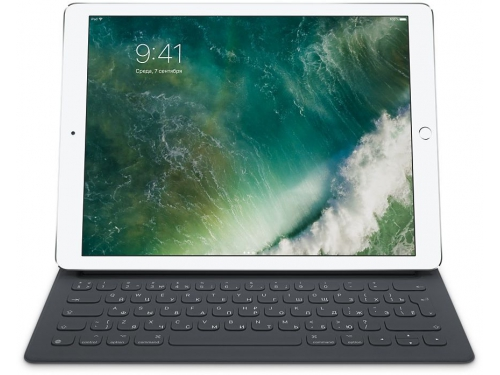 Клавиатура Apple Smart Keyboard  для iPad Pro (MNKT2RS-A) черная, вид 1
