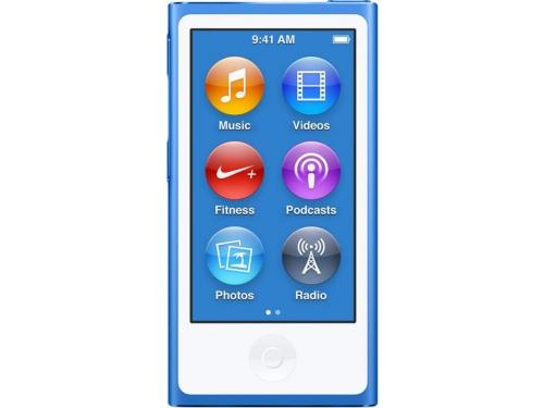Аудиоплеер Apple iPod Nano 16GB, синий (MKN02RU/A), вид 1