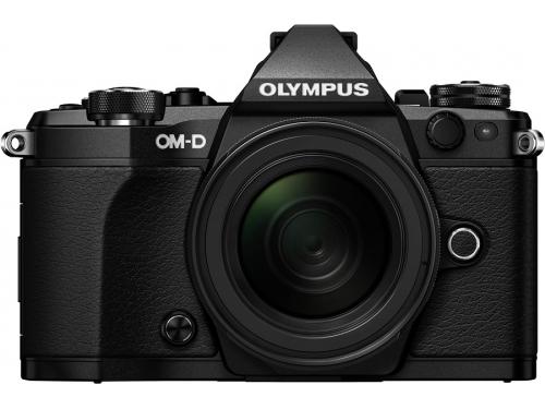 Цифровой фотоаппарат Olympus OM-D E-M5 Mark II Kit (EZ-M1250) черный, вид 1