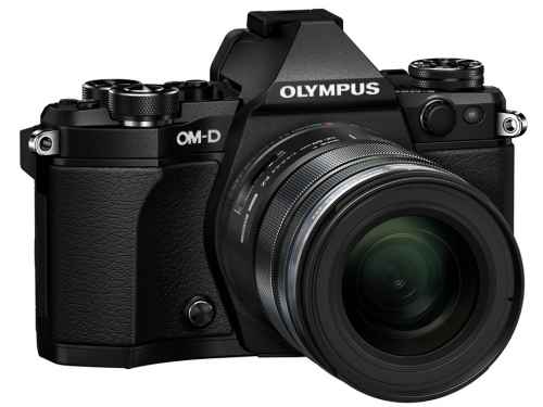 Цифровой фотоаппарат Olympus OM-D E-M5 Mark II Kit (EZ-M1250) черный, вид 2