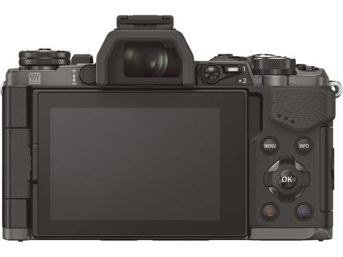 Цифровой фотоаппарат Olympus OM-D E-M5 Mark II Kit (EZ-M1250) черный, вид 3