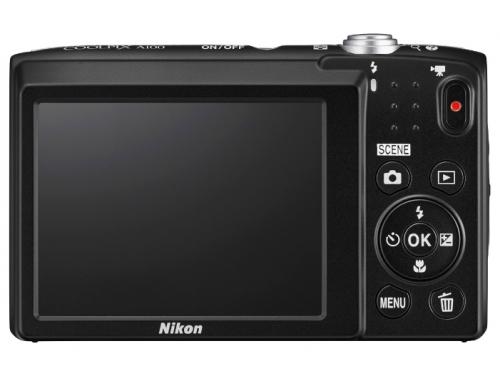 Цифровой фотоаппарат Nikon Coolpix A100, черный, вид 2