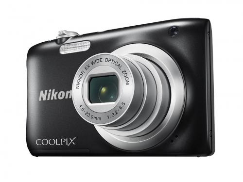 Цифровой фотоаппарат Nikon Coolpix A100, черный, вид 1