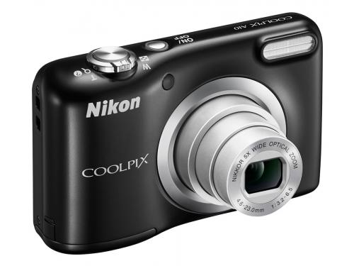 Цифровой фотоаппарат Nikon Coolpix A10, чёрный, вид 1