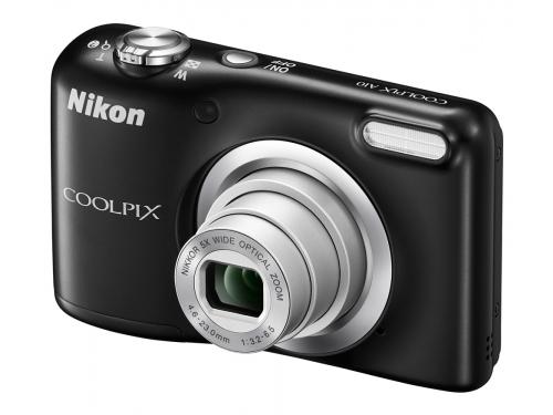 Цифровой фотоаппарат Nikon Coolpix A10, чёрный, вид 5