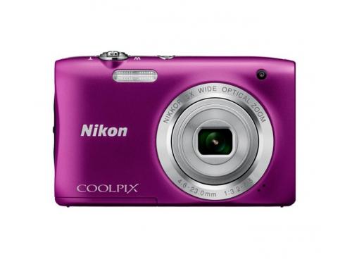 Цифровой фотоаппарат Nikon Coolpix A100, фиолетовый, вид 1