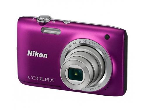 Цифровой фотоаппарат Nikon Coolpix A100, фиолетовый, вид 4