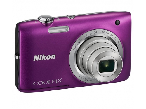 Цифровой фотоаппарат Nikon Coolpix A100, фиолетовый, вид 3
