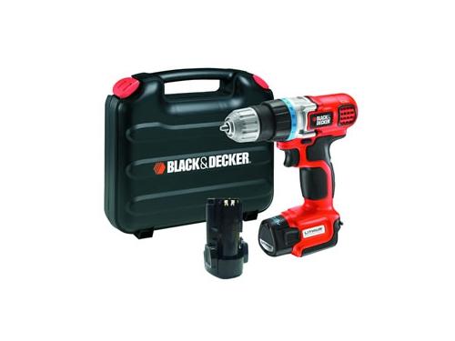 ���������� Black & Decker EGBL108KB, 2 �������������� � ����, ��� 2