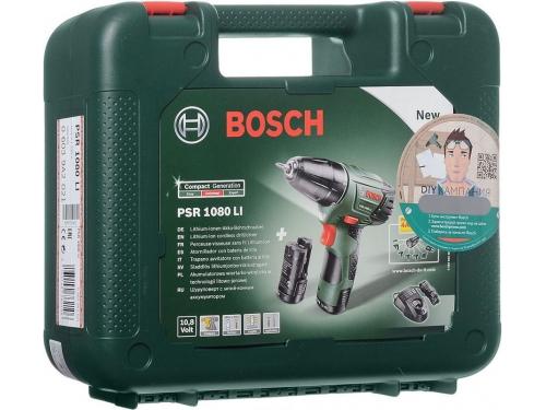 ����� Bosch PSR 1080 LI 1.5Ah x2 Case, [0.603.9a2.021], ��� 2