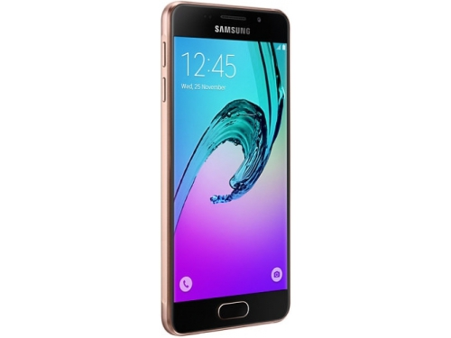 Смартфон Samsung Galaxy A3 SM-A310F, Розовое золото, вид 1
