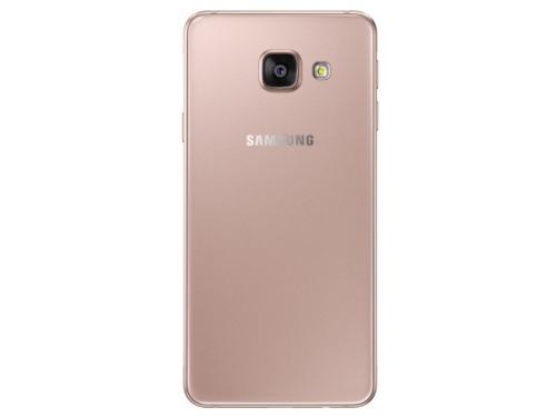 Смартфон Samsung Galaxy A3 SM-A310F, Розовое золото, вид 2