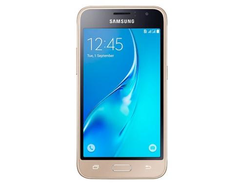 Смартфон Samsung J1 SM-J120, золотистый, вид 2