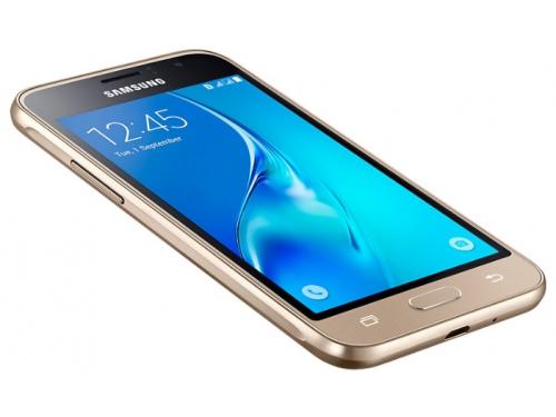 Смартфон Samsung J1 SM-J120, золотистый, вид 4
