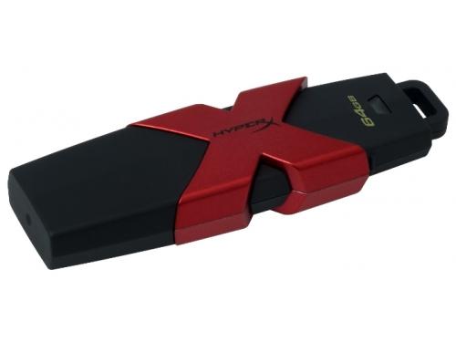 Usb-флешка Kingston HyperX Savage 64GB (USB 3.1 Gen 1), вид 2