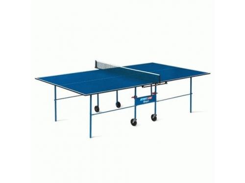 Стол теннисный Start Line Olympic без сетки, синий, вид 1