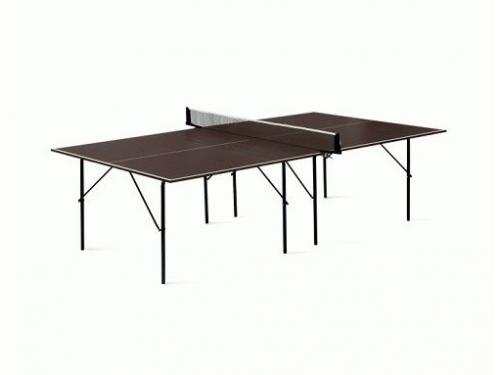 Стол теннисный Start line Hobby Outdoor, коричневый, вид 1