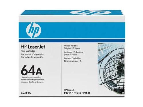Картридж для принтера HP 64A CC364A для LJ-P4015/P4515 черный, вид 1