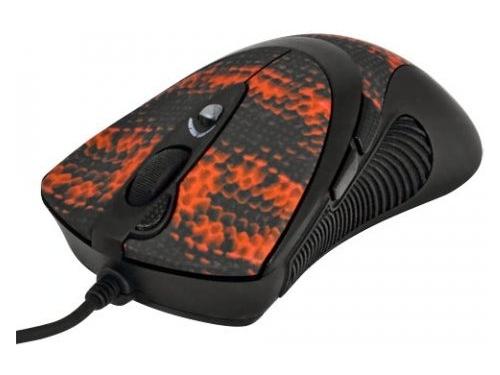 Мышка A4Tech F7 Snake Black-Red USB, вид 1