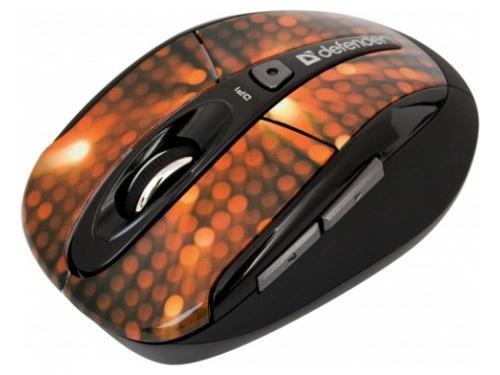 Мышка Defender To-GO MS-585 Nano Disco Red USB, вид 1