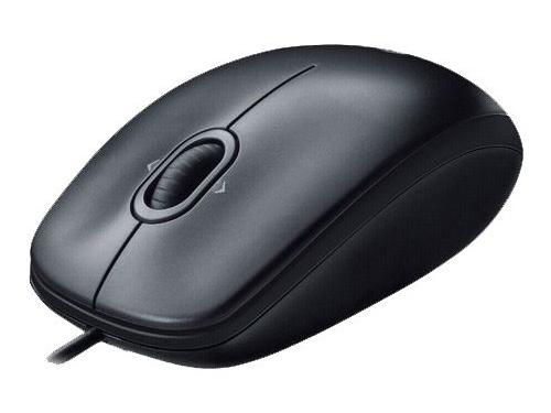 Мышка Logitech Mouse M100 Black USB, вид 2