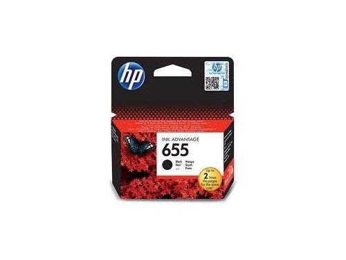 Картридж HP №655 HP-CZ109AE Black, вид 1