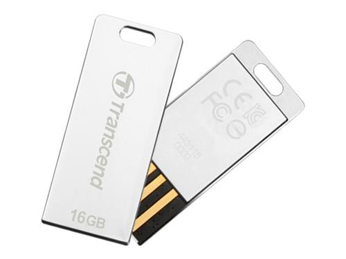 Usb-флешка USB Flashdrive Transcend 16Gb JetFlash T3, USB 2.0, Metal, вид 1